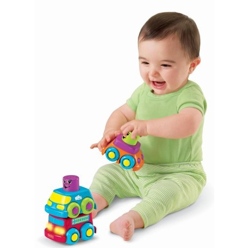 Fisher-Price Stacking Vehicle Fire Truck