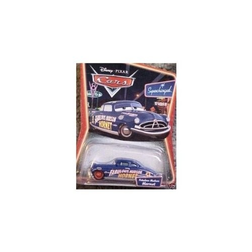Disney Pixar Cars Supercharged Fabulous Hudson Hornet with Red Wheels Character Car