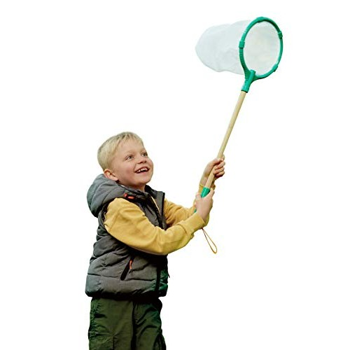 Hape E5578 Butterfly Net Made from Bamboo Nature Fun Outdoor Toys