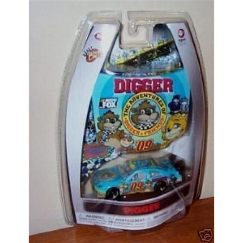 Winners Circle The Adventure of Digger & Friends 1/64 Scale Car & Bonus Matching