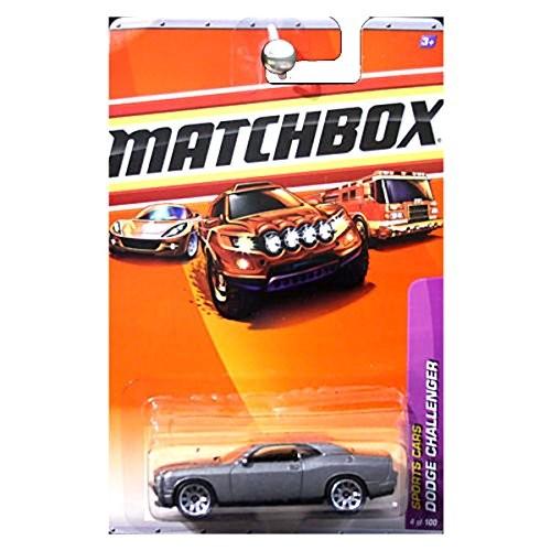 Matchbox 2009 Sports Cars Dodge Challenger Grey Gray Silver