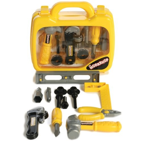 My Own Workshop Play Set with Tool Carry Case