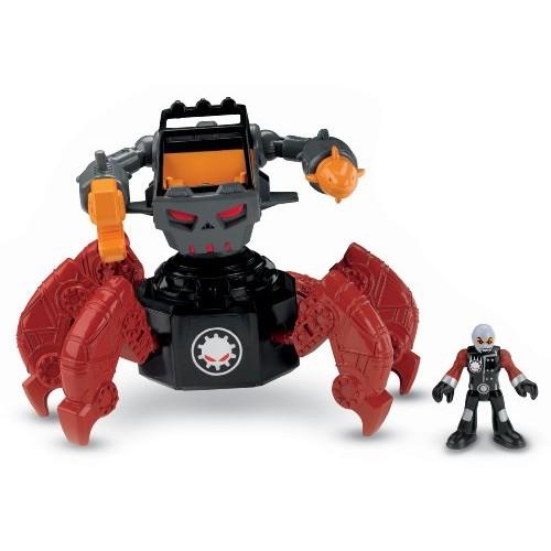 Fisher-Price Imaginext Robot Police – Motorized Villain