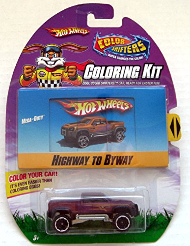 Mattel Hot Wheels Color Shifters Mega-Duty Highway to Byway Coloring Kit Cool