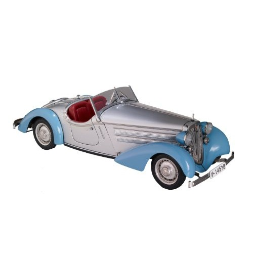 CMC-Classic Model Cars Audi 225 Front Roadster Blue/Silver Limited Edition 1:18 Scale Detailed Assembled