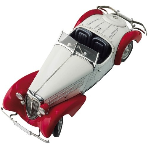 CMC-Classic Model Cars Audi 225 Front Roadster Red/White Limited Edition 1:18 Scale Detailed Assembled
