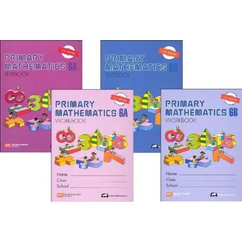 Primary Mathematics Grade 6 SET–Textbooks 6A and 6B Workbooks 6A and 6B