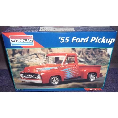 Monogram 1:24 '55 Ford Pickup Car Model Kit