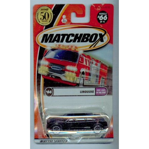 Matchbox 2002-66/75 Kids' Cars of the Year Limousine 50 Years 1:64 Scale