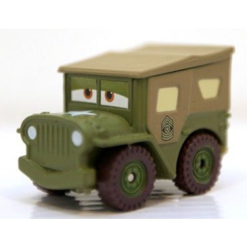 Disney Pixar Cars Sarge of Sarge's Boot Camp Mini Adventures Vehicle