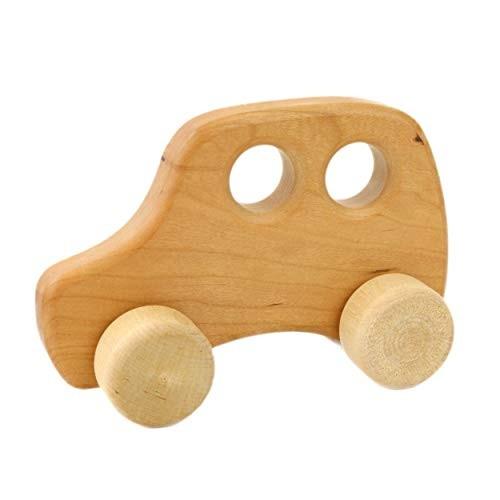 Camden Rose Toddler Taxi Wood Toy Car