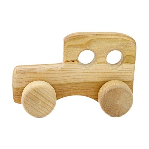 Camden Rose Toddler Classic Wood Toy Car