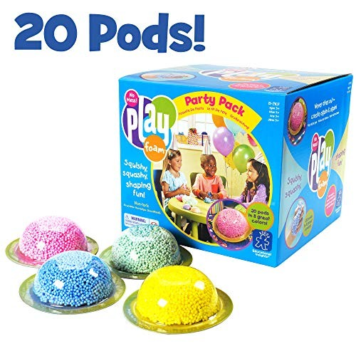Educational Insights Playfoam Party Pack of 20 Non-Toxic Never Dries Out Great for Birthday Classroom Favors & Goodie Bag Filler Perfect Ages 3 and up