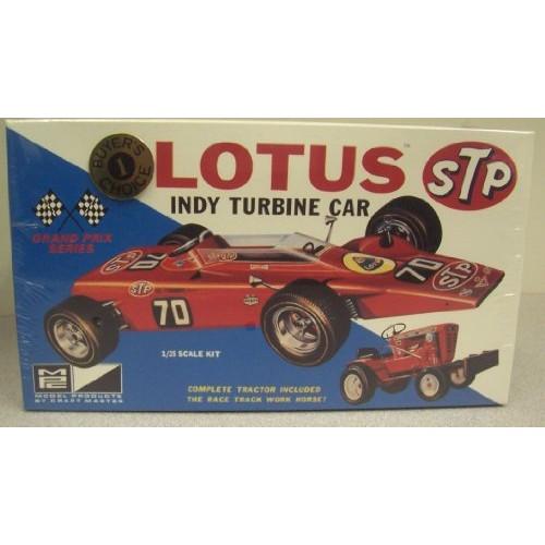 MPC 6025 Lotus STP Indy Turbine Car 1/25 Scale Plastic Kit