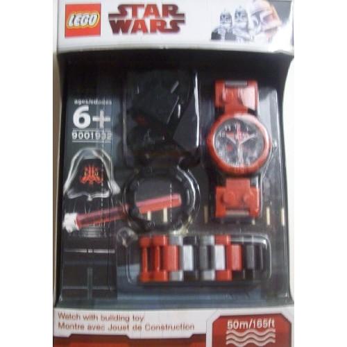 Lego Star Wars Darth Maul Watch With Minifigure