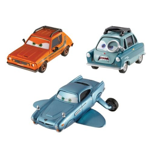 Cars 2 Collector Submariner Professor Z and Grem Vehicle 3-Pack
