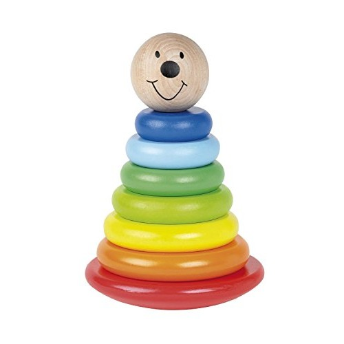 Tidlo Wooden Magnetic Wobbly Stacker
