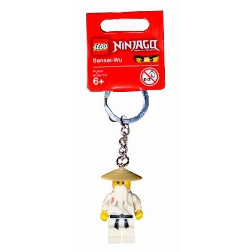 Lego Year 2011 Ninjago Series Key Chain Set # 853101 Sensei-Wu Keychain
