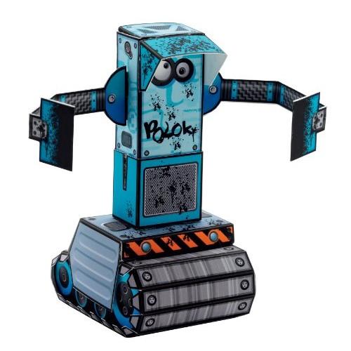 Djeco Folded Paper Toy Kit Urban Robots
