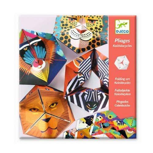 DJECO Flexanimals Origami Paper Craft Kit Level 3