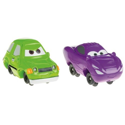 Fisher-Price GeoTrax Disney/Pixar Cars 2 Acer and Talking Holley Shiftwell