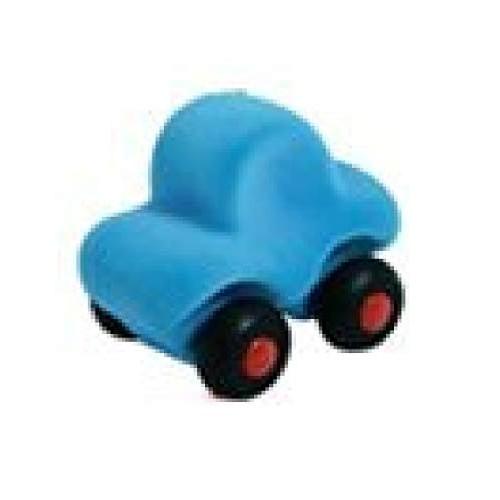 Rubbabu Micro Runalong Car- Aqua