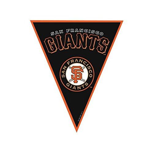 San Francisco Giants Major League Baseball Collection Pennant Banner Party Decoration