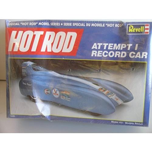 Hot Rod Series Attempt I Record Car—-Plastic Model Kit