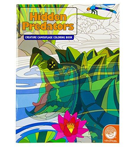 MindWare Hidden Predators Creature Camouflage Coloring Book