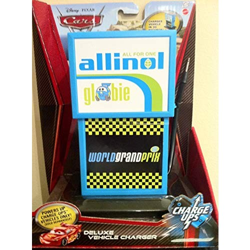 Disney / Pixar CARS 2 Movie 155 Exclusive Charge Ups Deluxe Vehicle Charger