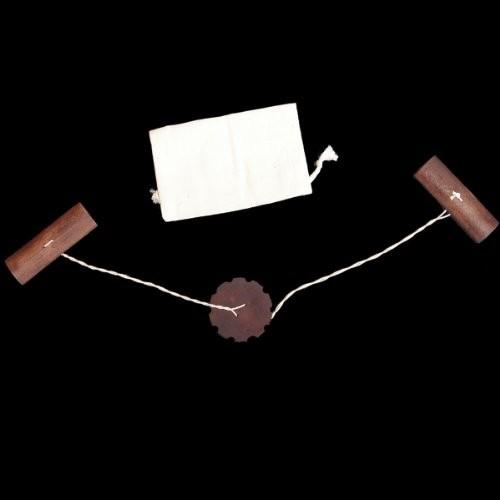 TGLLC Treasure Gurus Wood Buzz Saw Blade Toy Primitive Folk Game