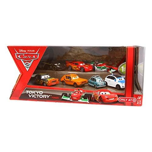 Disney Pixar CARS 2 TOKYO VICTORY Exclusive 7 pack set: FRANK CLUTCHENSON DARREL CARTRIP