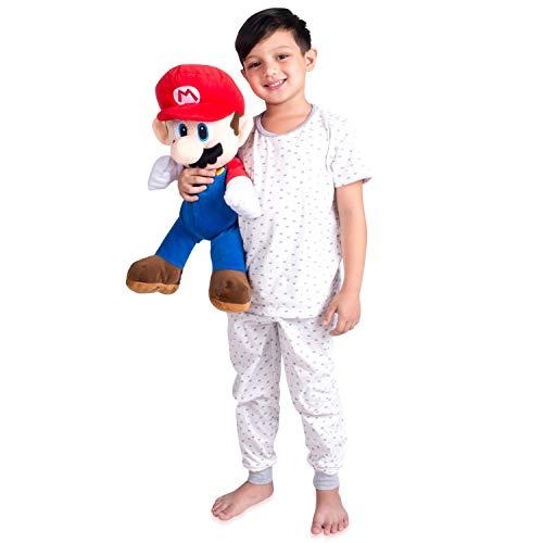 Franco Kids Bedding Soft Plush Cuddle Pillow Buddy One Size Super Mario