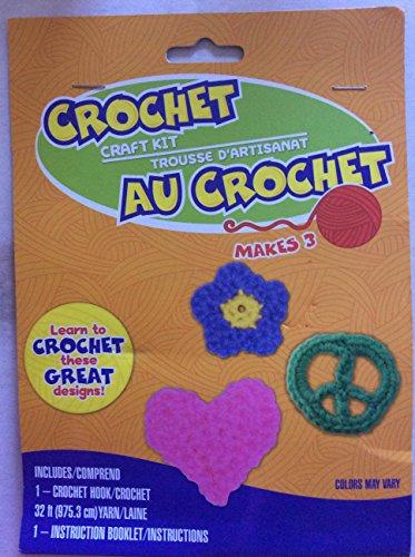 Greenbrier Crochet Craft Kit ~ Star Heart Peace Sign