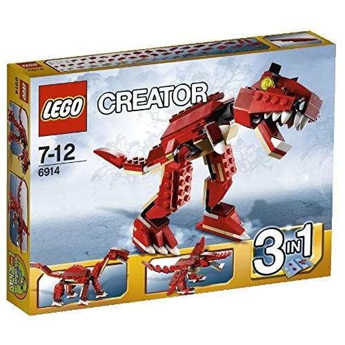 Lego Creator Prehistoric Hunters 6914 3-in-1 T-rex