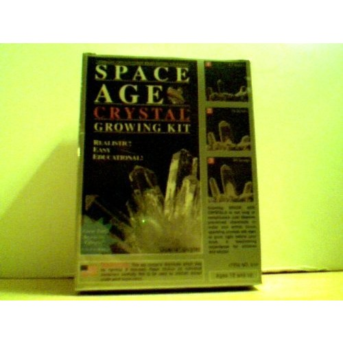 Space Age Crystal Growing Kit Quartz Cluster No 644 2003