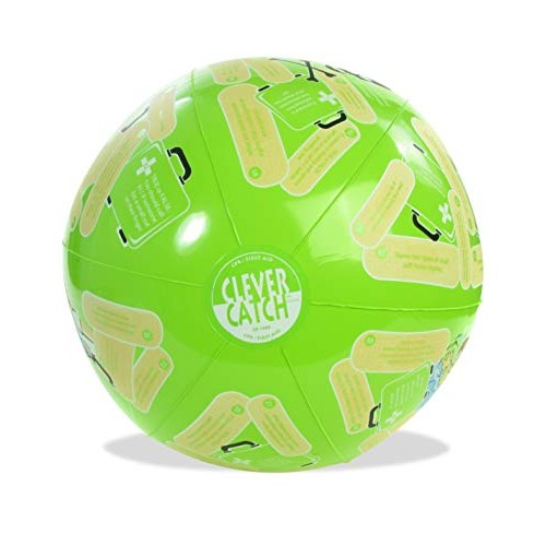 American Educational SR-1440 Vinyl Clever Catch CPR First Aid Ball 24 Diameter