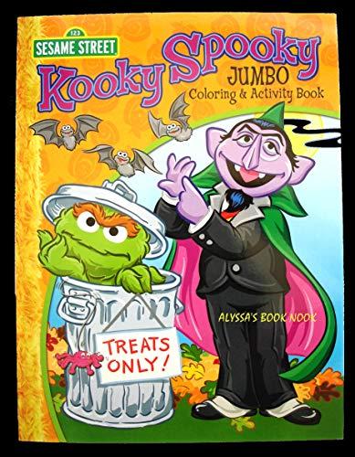 Sesame Street Kooky Spooky Jumbo Coloring and Activity Book