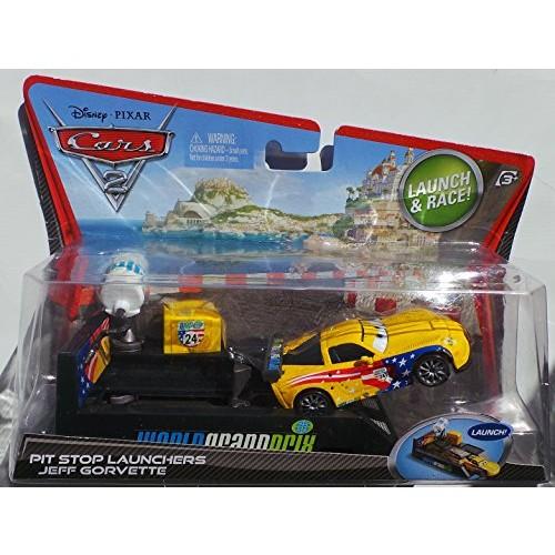 Cars 2 Pit Stop Launchers Jeff Gorvette