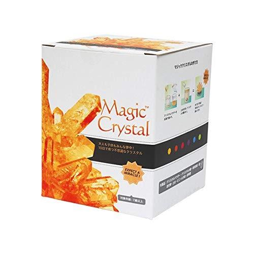 Magic Crystal Growing Kit Orange