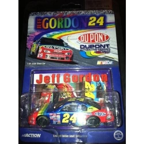 1999 Jeff Gordon #24 Rainbow Warriors Dupont Monte Carlo 1/64 Scale Diecast Car Action
