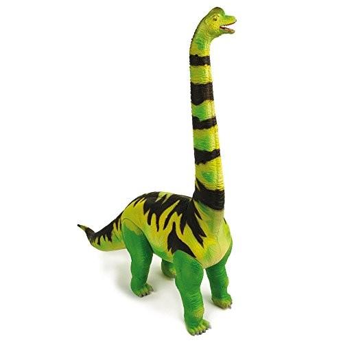 Geoworld Jurassic Action Brachiosaurus Dinosaur Kit Green Yellow