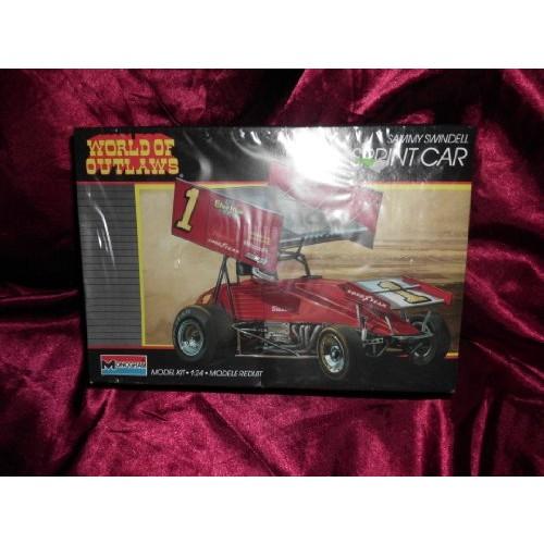 #2751 Monogram World of Outlaws Sammy Swindell Sprint Car 1/24 Scale Plastic Model KitNeeds