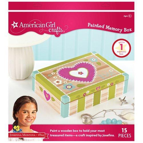 EK Success American Girl Crafts Painted Memory Box Kit Josefina Montoya