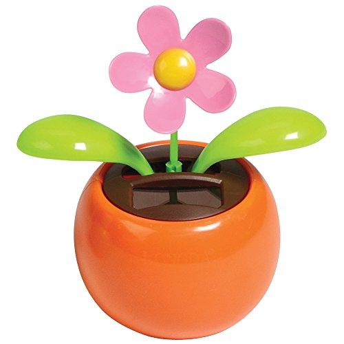Warm Fuzzy Toys Solar Dancing Flower Assorted Colors