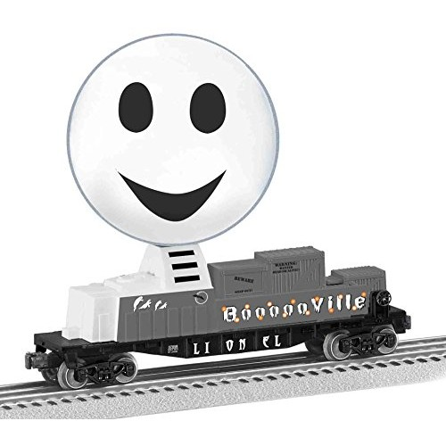 Lionel Trains Ghost Globe Halloween Car