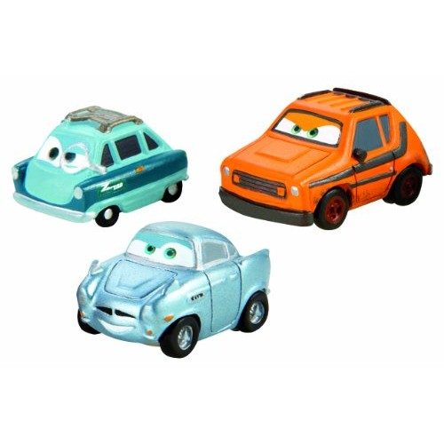 Cars Micro Drifters Grem Professor Z and Finn McMissile Vehicle 3-Pack