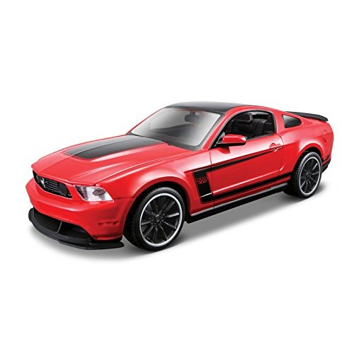 Maisto 1:24 Scale Assembly Line 2012 Ford Mustang Boss 302 Diecast Model Kit (Colors