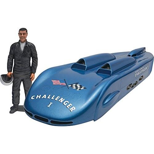 Revell Mickey Thompson's Challenger Salt Flat Racer with Figure 1/24 Scale Model Car Kit
