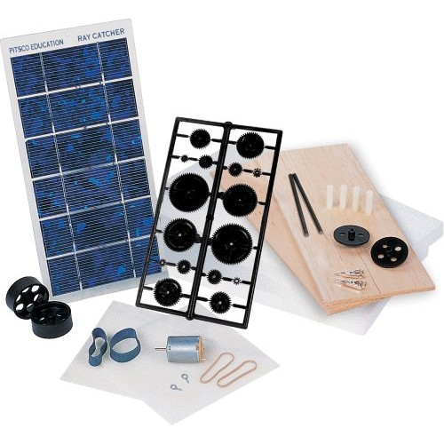 Pitsco Ray Catcher Sprint Deluxe Solar Car Kit Individual Pack